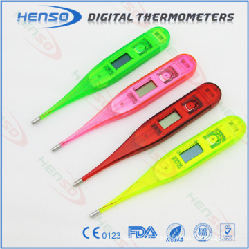 Henso transparent electronic thermometer