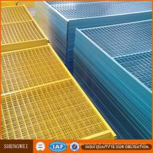 Painéis revestidos duráveis da cerca do Temp do PVC 6′x10 ′