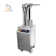 Golden Chef 300 kg/h sausage maker machine aotomatic stainless steel sausage filler machine electric sausage stuffer