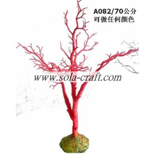 Fashion Crystal Branch Tree per la decorazione di eventi 70CM