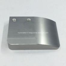 Pièces de surface incurvées par usinage CNC