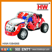 Novo Metal Educacional e brinquedo de plástico Diy Rc Car Kit