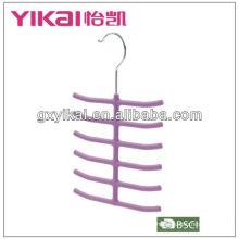 Gummi-Lack-ABS-Aufhänger für Krawatte