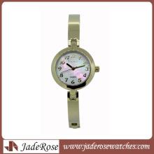 2015 extravagante senhoras quartzo relógio todo de aço inoxidável