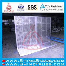Aluminum Barriers for Safety Control