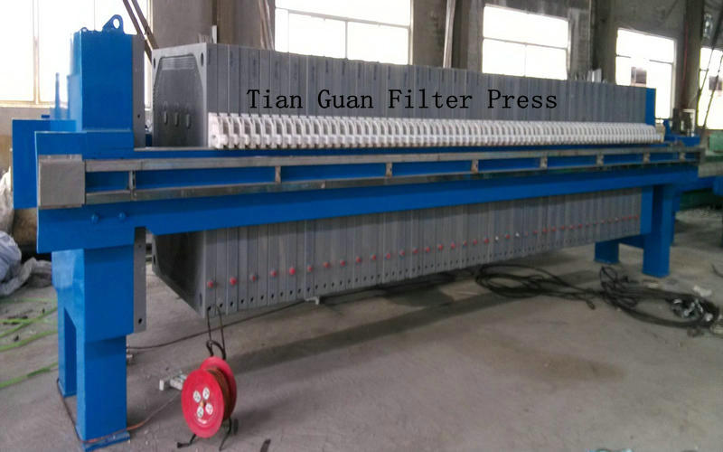 Sewage Plate Frame Filter Press 5