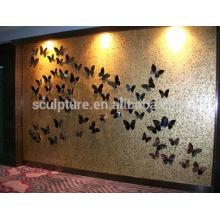 Grande decoração moderna hotel relievo