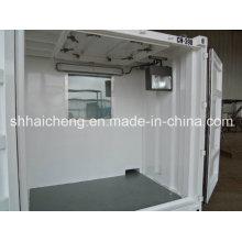 Chambre préfabriquée standard de récipient de la Chine pour le dortoir