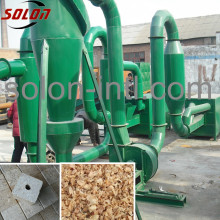 Air flow type easy operation sawdust pipe dryer