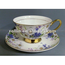 good quality chinese porcelain tea cup and saucer