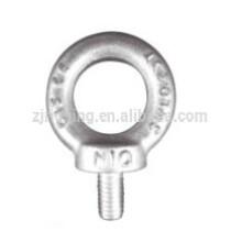 Perno de ojo forjado galvanizadoc15 DIN580 de la gota
