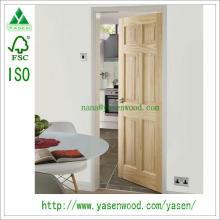 Porte en bois composite 4 panneaux en pin