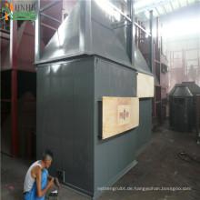 Multi-Zyklon-Staubabscheider für die Rauchgasreinigung von Biomasse-Heizkesseln