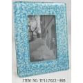 Square Fused Glass Photo Frame