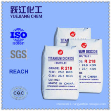 Rutile Titanium Dioxide R218 (paints & coatings using)