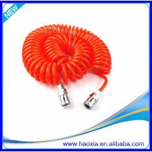 Tubos neumáticos multicolores del resorte de la PU de la alta calidad caliente de la venta