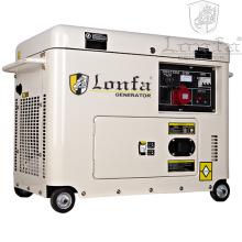 5kVA / 6kVA / 7kVA / 8kVA trifásico de prueba de sonido generador diesel para la venta