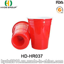 BPA libre rojo Solo vaso de plástico para fiesta