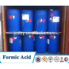 Ácido fórmico 85% Min / cas no .: 64-18-6, productor de ácido fórmico China