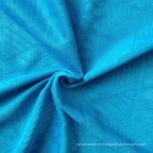 Poli / spandex tecido de malha jacquard (qf13-0690)