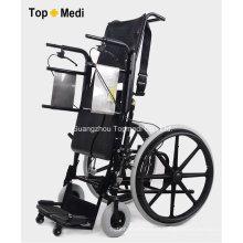 Alavanca Topmedi e cadeira de rodas em pé manual operada a ar
