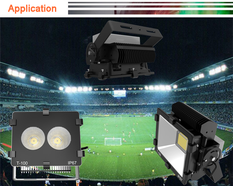 TG-06 100w Narrow Beam 100w LED Floodlight 7
