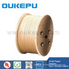 Fio de alumínio revestido de fornecedor de garantia de comércio para fábrica de zhejiang OUKEPU papel rectangular de classe F