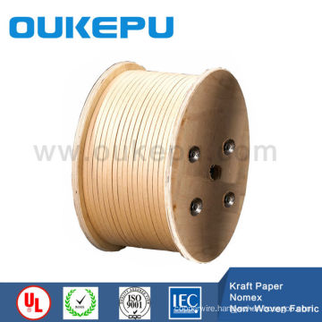 kraft paper wrapped round copper wire ,round Kraft paper wrapped wire,Nomex wrapped round wire
