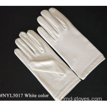 Gants Costume Mascarade Blanche Adulte