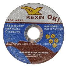 Abrissscheibe für Metall En12413 Schwarz Farbe