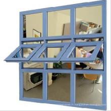 Fenêtre à guillotine en alliage d'aluminium bon marché