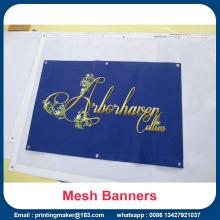 PVC Vinyl Mesh Banners for Construction Sites