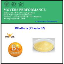 Alta qualidade de baixo preço Food Riboflavina grau (vitamina B2)