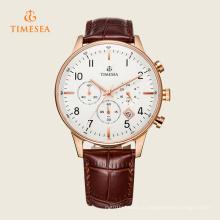 Новые случайные мужские Кварцевые наручные часы Спорт бег 72310