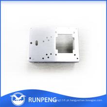 Peças de perfuração feitas à máquina personalizadas do alumínio peças de metal feitas à máquina