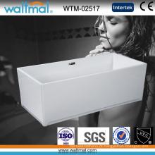 Banheira autônoma de alta qualidade do retângulo fresco de alta qualidade (WTM-02517)