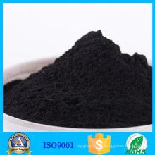 Poudre de charbon actif de charbon de bois de catégorie comestible