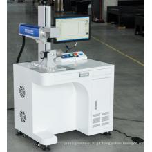 Mini máquina marcadora a laser eletrônica de fibra 20W