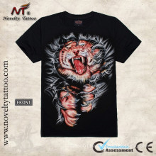 T100257 Tiger Tattoo Designs T shirt