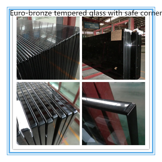 Euro-bronze tempered glass with safe corner3