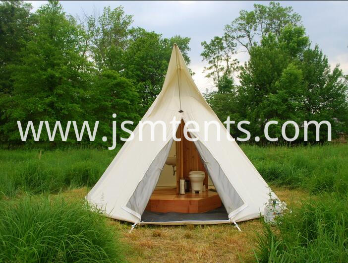 Outdoor Canvas Teepee Tents