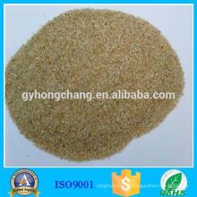 Fundición fina 99 contenido de sílice de arena de cuarzo sin polvo