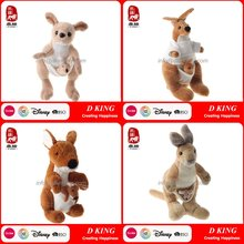 Kids Toys Baby Plush Animal Kangaroo Toy