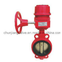 Fire Protection Wafer Signal Butterfly Valve