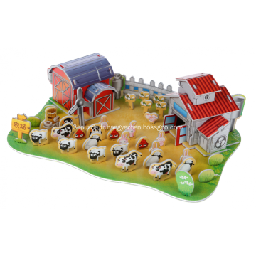 QQ 3D Puzzle Ranch