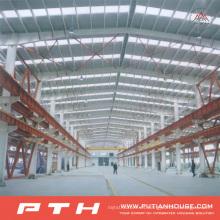Almacén de estructura de acero de amplio alcance diseñado profesional