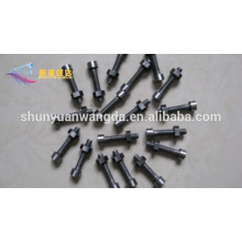 molybdenum threaded rods fastener, molybdenum screw