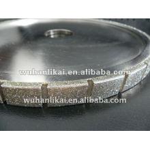 corte galvanizado de diamante de roda