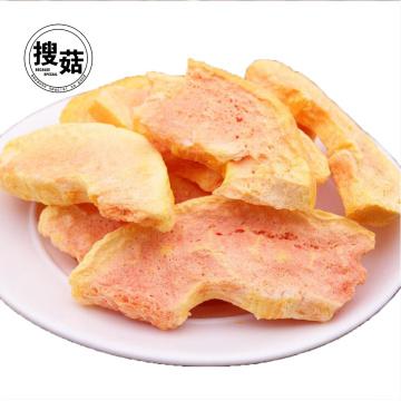 Kosher Freeze Dried Papaya Chips cube fruit Snacks