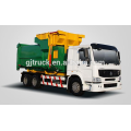 4X2 drive Dongfeng hook arm garbage truck / sealed garbage truck /compressor garbage truck / compact garbage truck